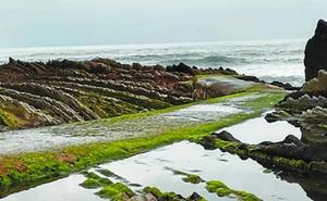 Trabajos de mejora en el entorno de la playa de Itzurun