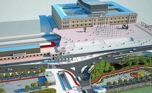 La nueva estación del TAV de San Sebastián estará para 2021, con dos años de retraso