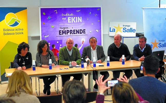 Instituciones, universidad y centros de FP se unen en favor del emprendimiento