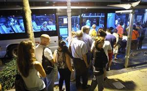 Donostia implantará las paradas a demanda en la línea B8 nocturna de Dbus