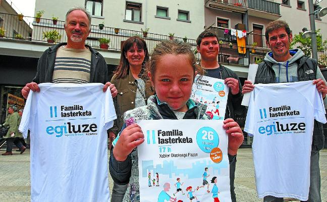 La II Carrera Familiar del colegio Egiluze se celebrará el sábado 26