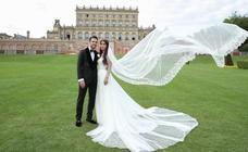 Cesc Fàbregas se casa en Inglaterra con Daniella Semaan
