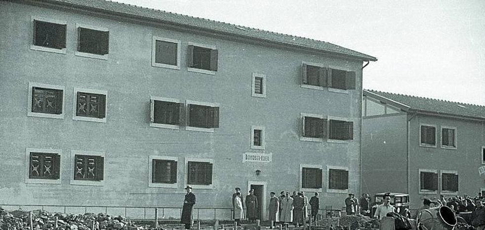 1963: Problemas con las contraventanas en las viviendas de 'Corea del Norte'