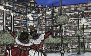 Sanfermines 2018: 'Pamplona, ciudad de luces', imagen de Sanfermines 2018