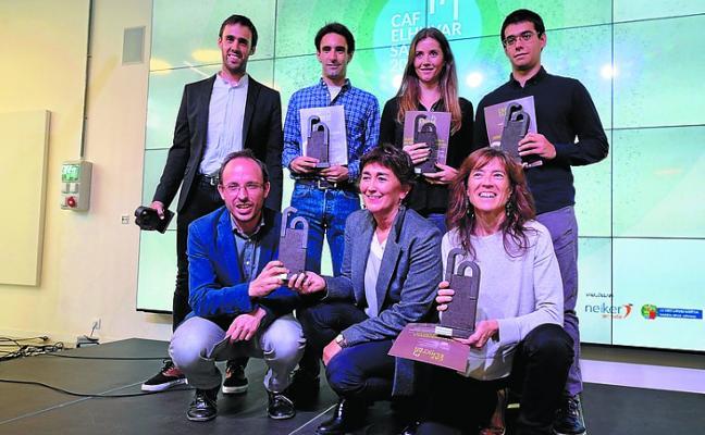 Ekaia, la revista científica de la UPV, Premio al Mérito Elhuyar
