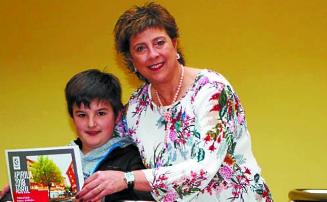 Odei Urriza, ganador de abril en el calendario municipal