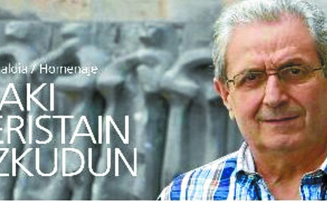 Arantzazuko Adiskideak organiza un homenaje a Iñaki Beristain el sábado 26