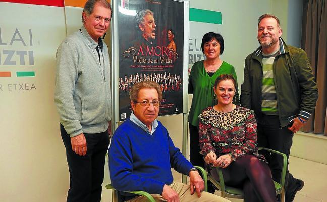 La zarzuela sustituye a la ópera con la proyección de 'Amor, vida de mi vida'