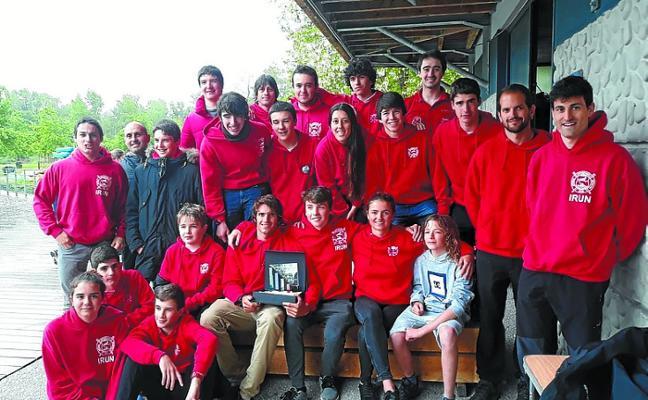Santiagotarrak se impuso por equipos en el Campeonato de Euskadi en Pau