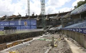 ELA y LAB denuncian «incumplimientos laborales» en las obras del estadio de Anoeta
