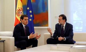 El Gobierno relativiza el choque con Rivera en Cataluña tras su paso por la Moncloa