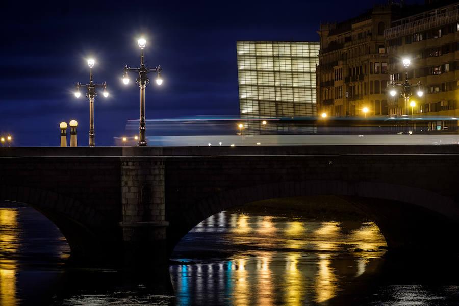 Donostia de noche