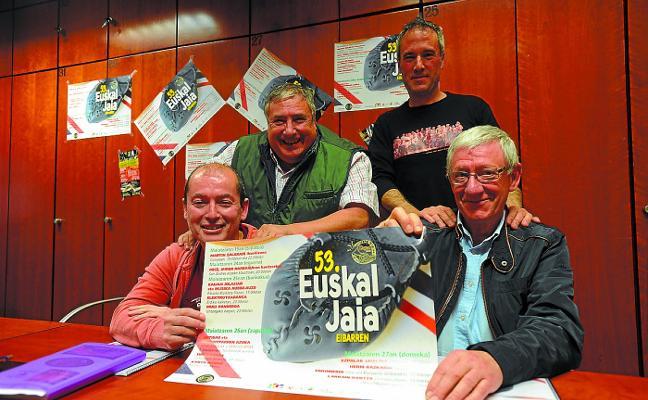 Las torres humanas centrarán las danzas de la Euskal Jaia número 53