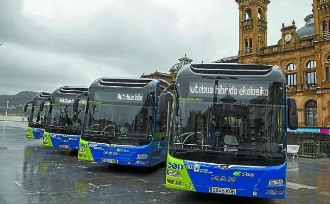 Dbus renovará su flota este año con catorce nuevos autobuses híbridos