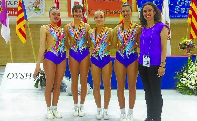 Oro y bronce para Dragoi en el Campeonato de España