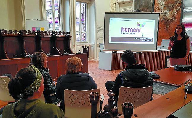 376 propuestas ciudadanas dentro del proceso Hernani Erabaki