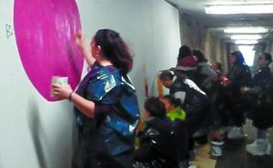 Del túnel de Gorritxitxi a Zubikoa, como símbolo de la lucha contra la violencia sexista