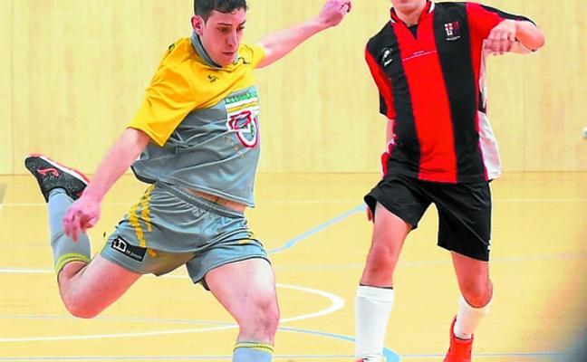 Los dos equipos de fútbol sala despiden hoy en Usabal y Belabieta una brillante temporada