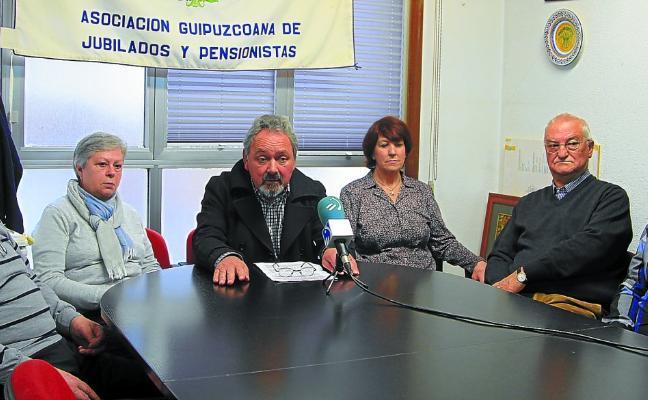 Agijupens recula y acudirá a la protesta del 26 pero renuncia a reclamar los 1.080 euros