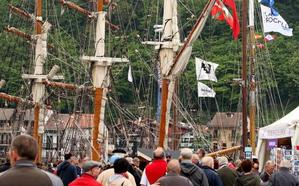 El 'Kaskelot' volverá a navegar hoy por la bahía