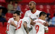 El Sevilla cierra un año irregular con un triunfo en el adiós de Caparrós