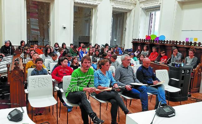Los escolares llevaron al Pleno sus propuestas de la Agenda 21 Escolar