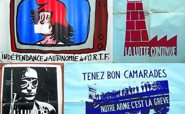 El Photomuseum acoge hasta julio una muestra de carteles del Mayo del 68