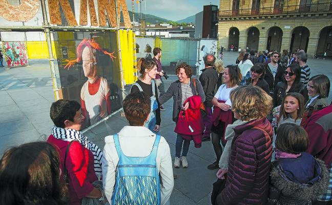 Kontenporanea lleva el arte a la calle