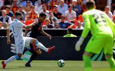 El Valencia se queda con los puntos en un choque de baja intensidad