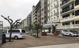 Detenidos tres jóvenes por agredir y robar a otro en Donostia