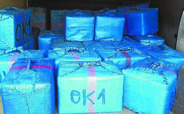 Desarticulan una organización criminal en Cádiz que introdujo más de 10.000 kilos de hachís