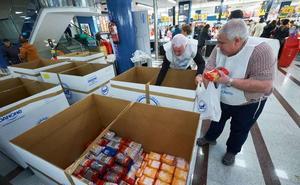 Ayuntamiento y Cruz Roja de Elgoibar animan a participar en la recogida del Banco de Alimentos