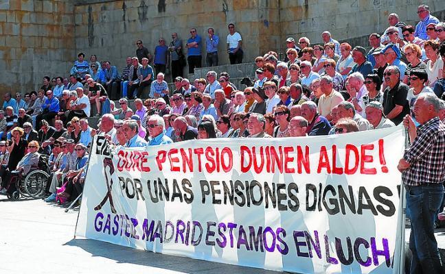 Los hogares del jubilado también aprueban manifestarse este sábado