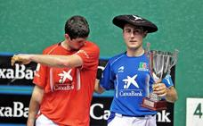 El navarro Joanes Bakaikoa, campeón al ganar al guipuzcoano Jon Erasun 17-22