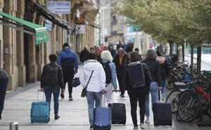 La llegada de turistas a Gipuzkoa baja un 1,2 % en abril