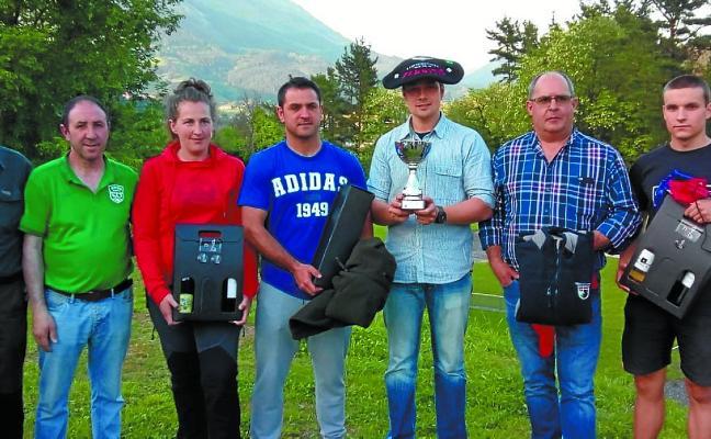 Récord de participantes en la Copa de Gipuzkoa de tirada a codorniz