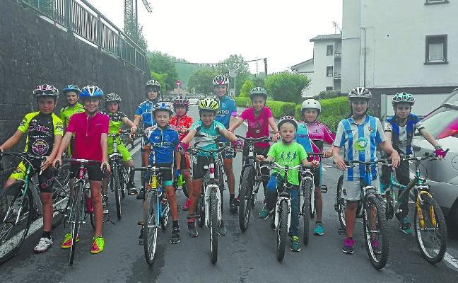 La challenge ciclista infantil de la Peña Aiastui se pone en marcha el 2 de junio