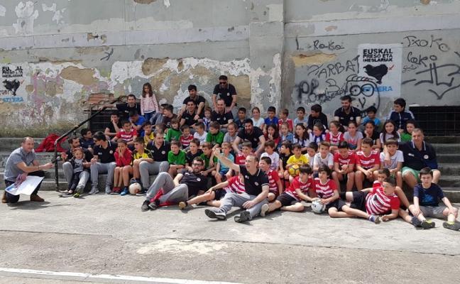 El Pescados Ferreres celebró el día del niño en Pasai Antxo