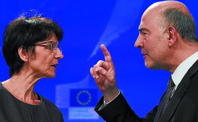 Bruselas avala las cuentas de España pero pide un ajuste de 7.500 millones para 2019