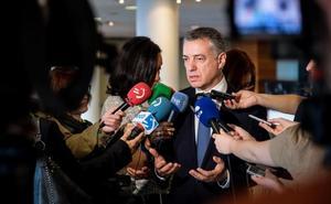 Urkullu afirma que el apoyo a los PGE ha sido una decisión «tan difícil, como correcta»