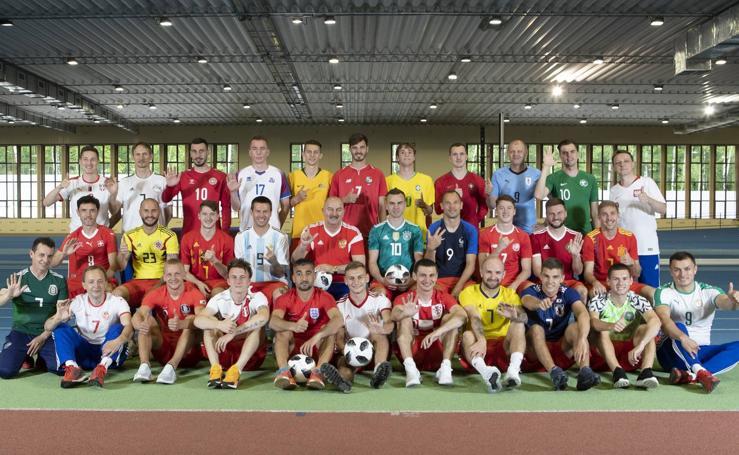 Así son las camisetas del Mundial de Rusia