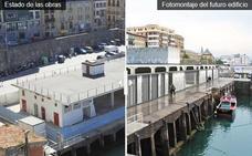 Comienzan las obras en el portaaviones del Muelle donostiarra