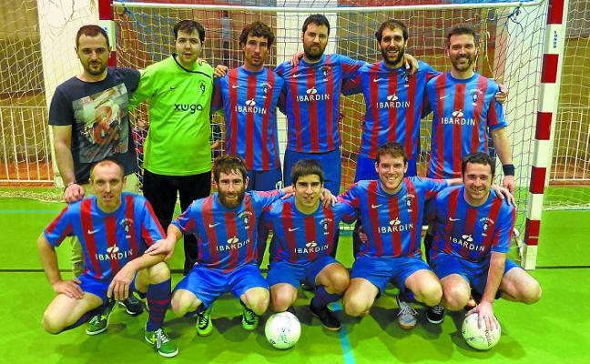 El Gure Txokoa de fútbol sala asciende a Primera y juega el sábado la final en Tolosa
