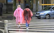 Aviso amarillo para hoy por lluvias intensas en Euskadi