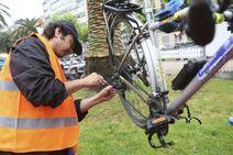 Bici Bizi toma la plaza Okendo