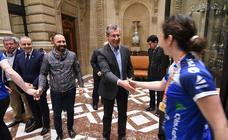 Celebración del Bera Bera en la Diputación