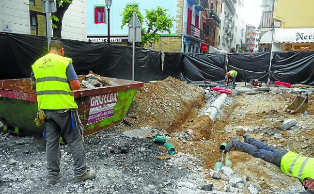Ya han arrancado las obras de peatonalización del Casco Antiguo