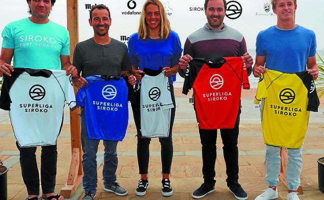 La SuperLiga Siroko 2018 vuelve a Zarautz con la segunda prueba de esta competición y zarauztarras entre los favoritos
