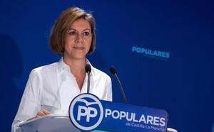 Cospedal, a Ciudadanos: «No sean la muleta del PSOE porque siempre deja a España en ruina»