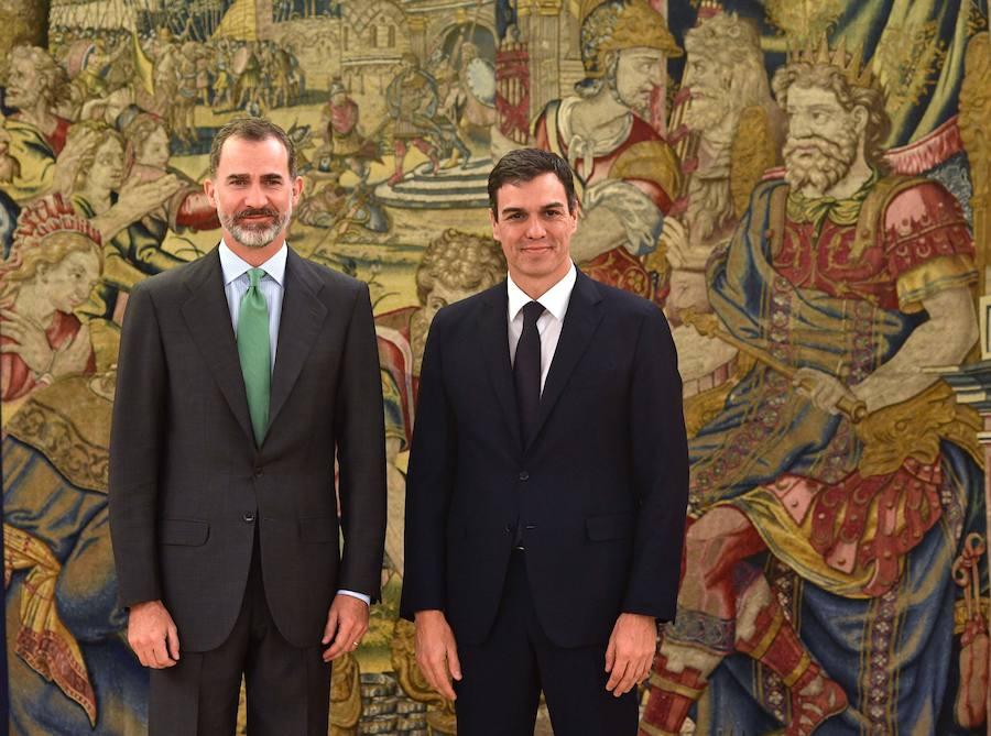 Pedro Sánchez se posesionó este sábado como nuevo presidente de España